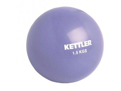 Posilovací míček Kettler 1,5 kg fialový