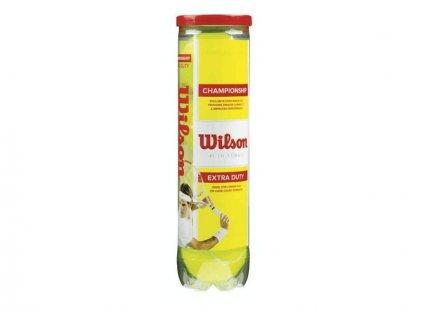 Míč Tenisový Wilson Championship - 4 ks