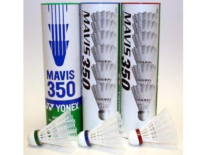 Badmintonové míče Yonex Mavis 350 6 ks žluté