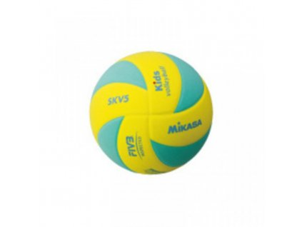 Volejbalový míč MIKASA Kids SKV5 green-yellow