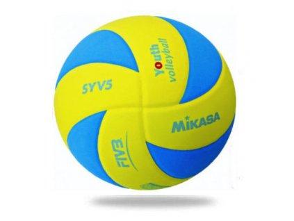 Volejbalový míč MIKASA SYV5 modro-žlutý