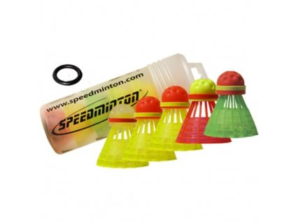 Míčky Speedminton Speeder tube MixPack