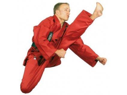 Kimono karate Hayashi gi Kirin red