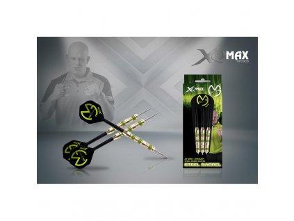 sipky xq max steel michael van gerwen 23g