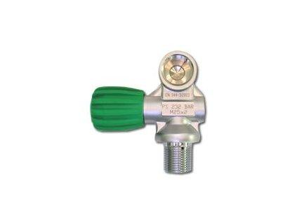 Ventil na mono láhev NITROX (ZÁVIT M26×2)