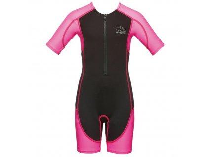 Phelps dětský neoprenový oblek (plavky) STINGRAY růžový