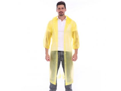 Pláštěnka Merco Coat žlutá