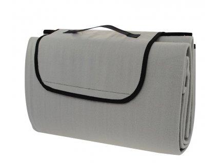 Pikniková deka Calter Stady 170x150 cm šedá