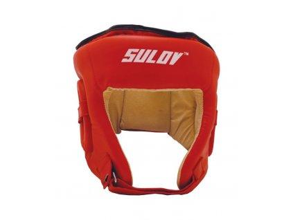 Sulov Box chránič hlavy otevřený DX červený
