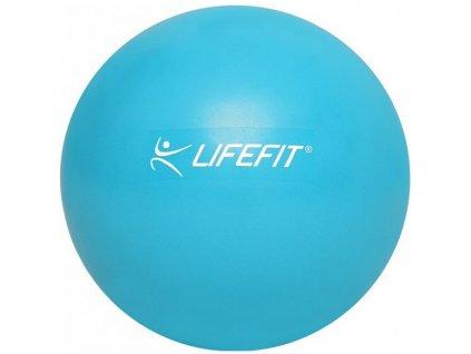 Aerobní míč Overball Lifefit 20cm světle modrý