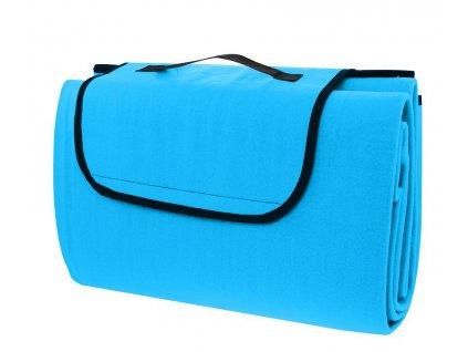 Pikniková deka Calter Cutty 150x130 cm modrá