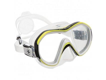 Maska Aqualung Reveal X1 silikon transparent žlutá