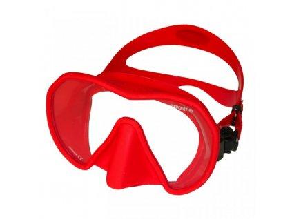 Maska Beuchat Maxlux S červená