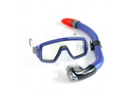 Set maska Technisub Ventura Midi + šnorchl Heliox P.V. MIDI blue