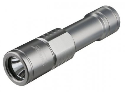 Svítilna Orcatorch D520 stříbrná
