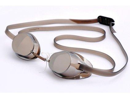 Plavecké brýle Topswim Winners Mirror brown