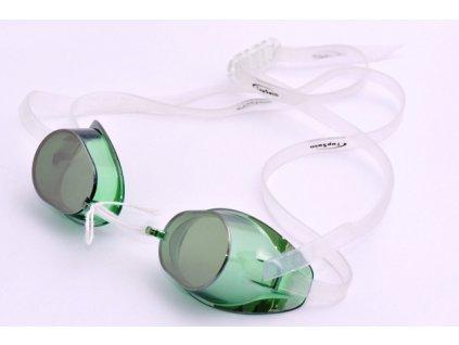 Plavecké brýle Topswim Winners Mirror green