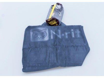 Ručník N-Rit Super Dry Towel M Šedý