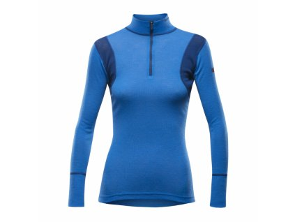 Devold Hiking Woman Half Zip Neck Heaven, triko, dámské  XS
