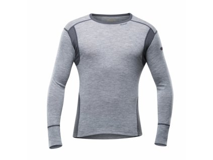 Devold Hiking Man Shirt Grey Melange, triko, pánské  XL