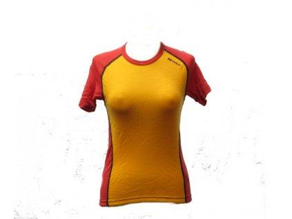DEVOLD multisport triko dámské červeno oranžové