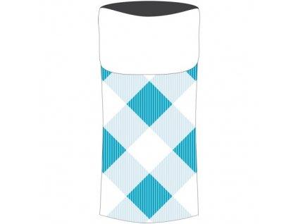 86ae5e82b66 Sulov sportovní šátek s fleece modrý-bílý