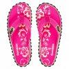 Pantofle Gumbies Hibiscus pink 42