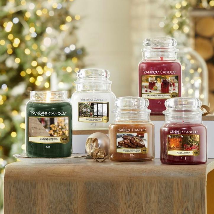 Vánoční svíčky Yankee Candle