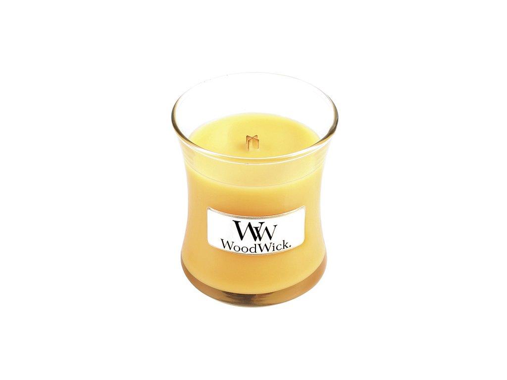 Vonná svíčka WoodWick SEASIDE MIMOSA Přímořský koktejl 85g