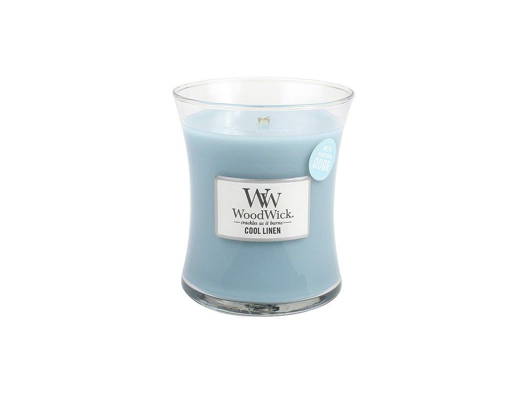 Svíčka WoodWick svěží prádlo, 275 g
