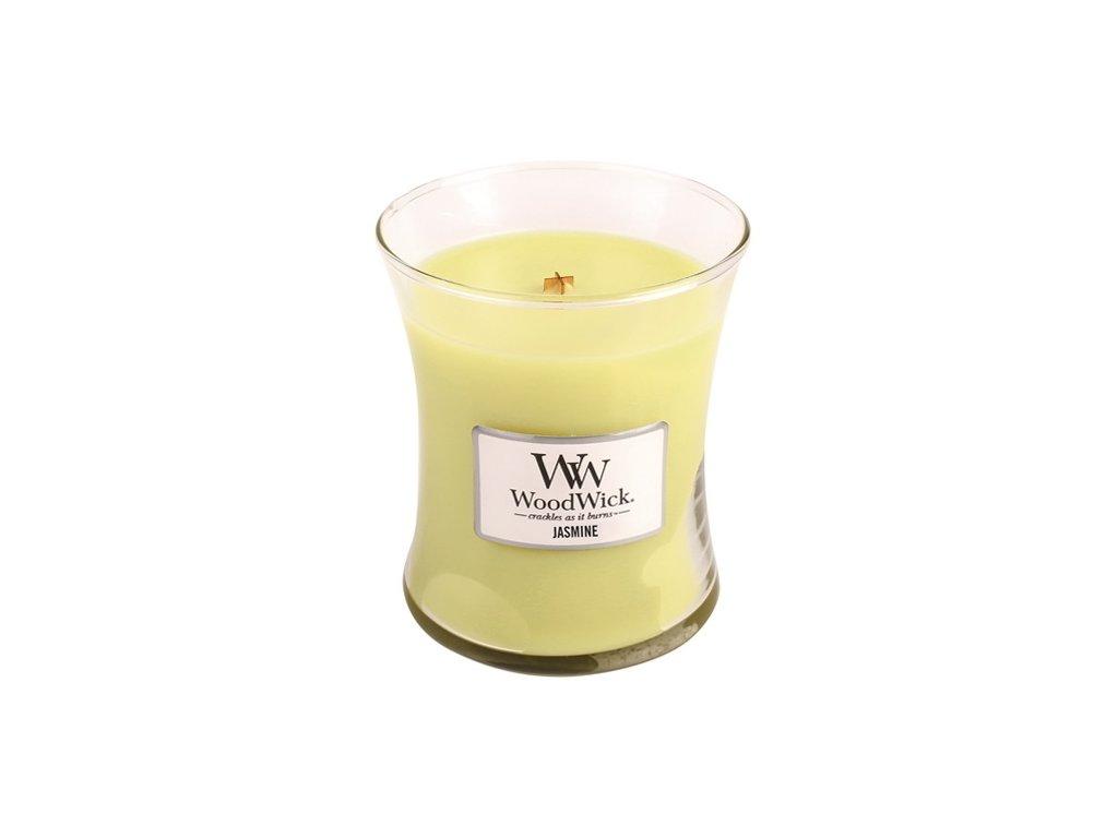 Svíčka WoodWick jasmín, 275 g