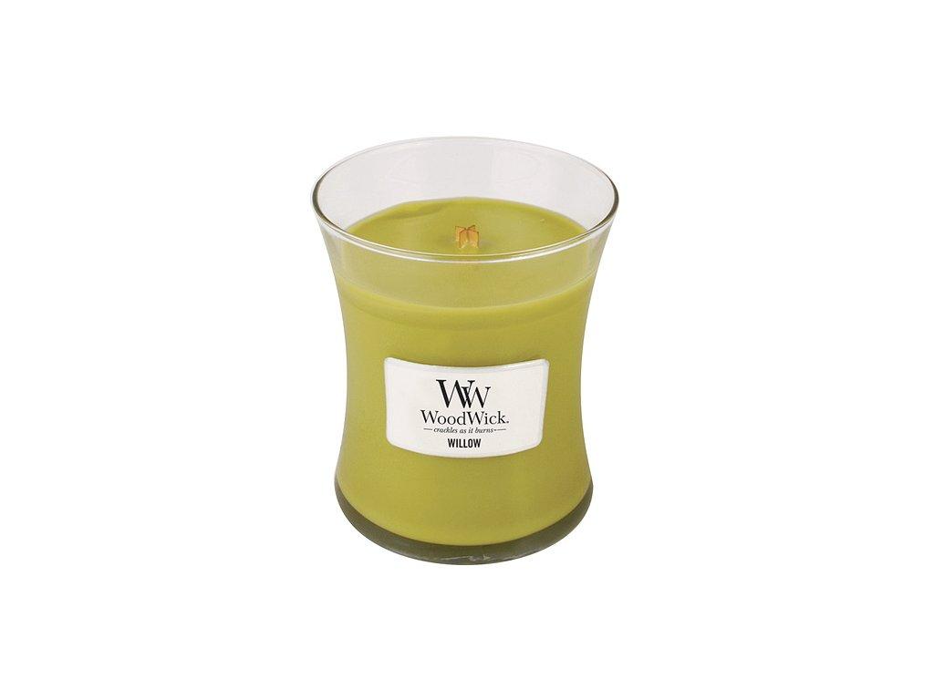 Svíčka WoodWick vrbové květy, 275 g