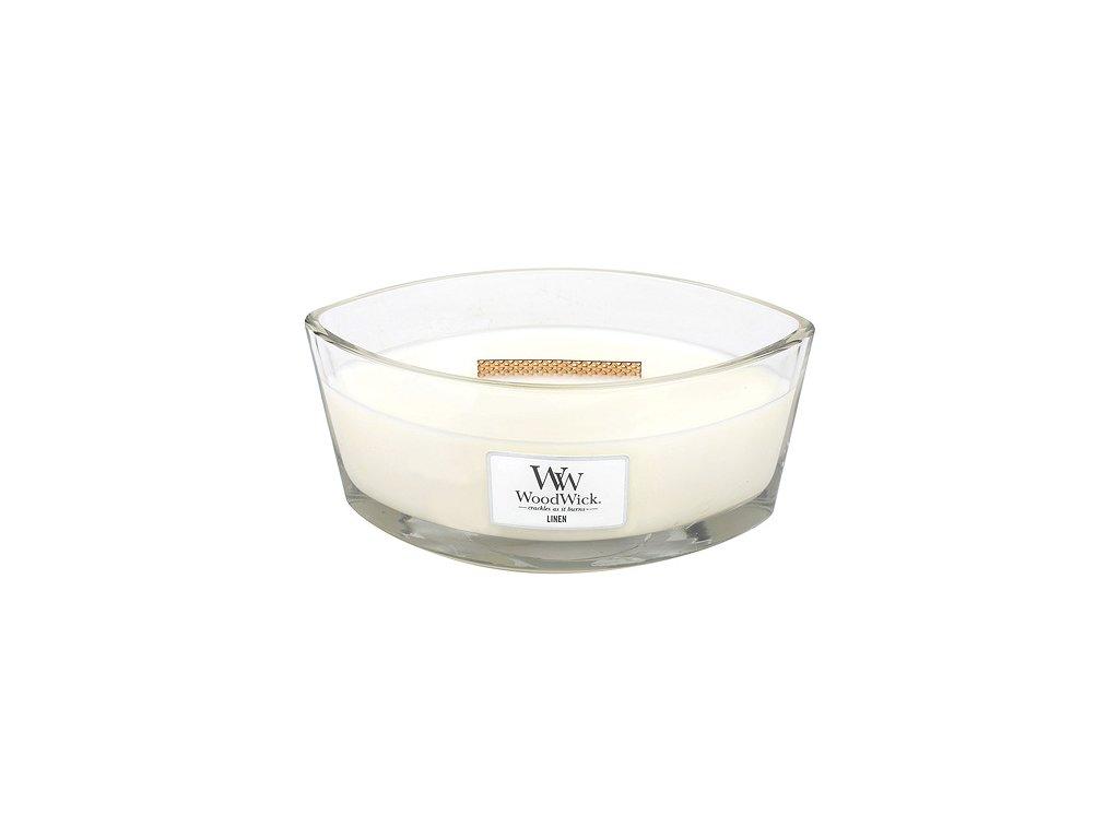 Svíčka WoodWick čisté prádlo, 453.6 g