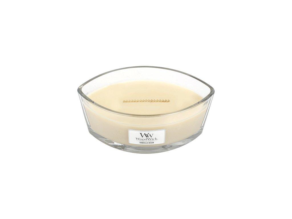 Svíčka WoodWick vanilka, 453.6 g