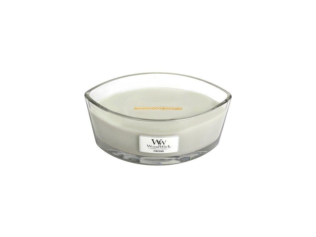 Svíčka WoodWick Oheň v krbu, 453.6 g