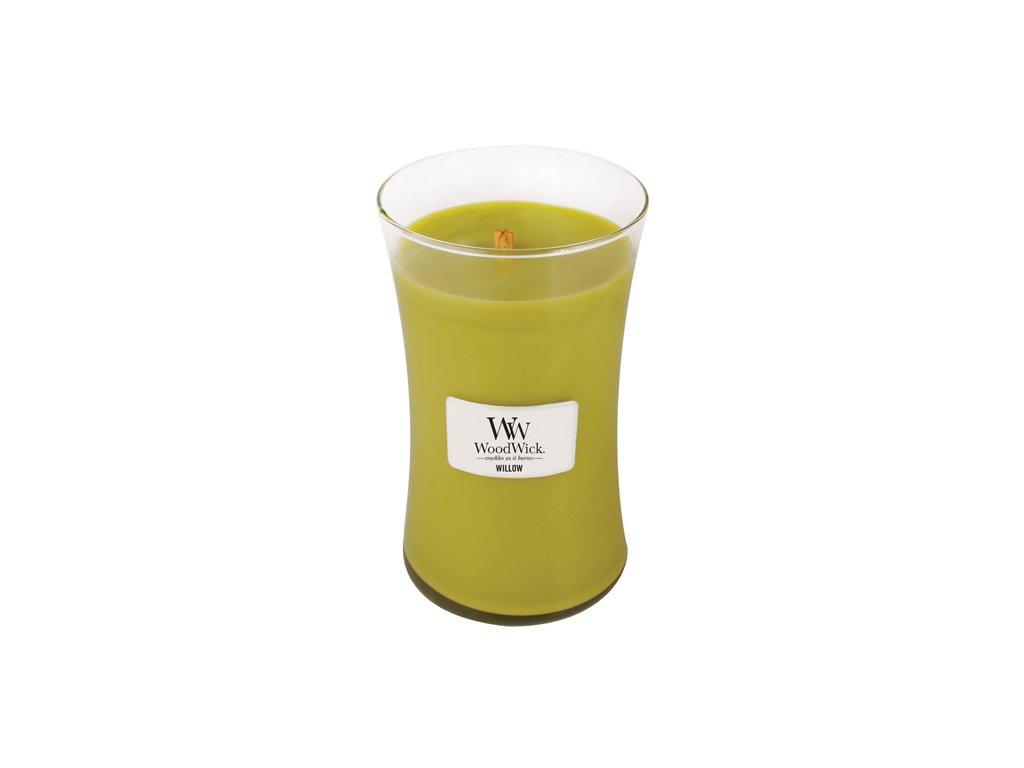 Svíčka WoodWick vrbové květy, 609,5 g