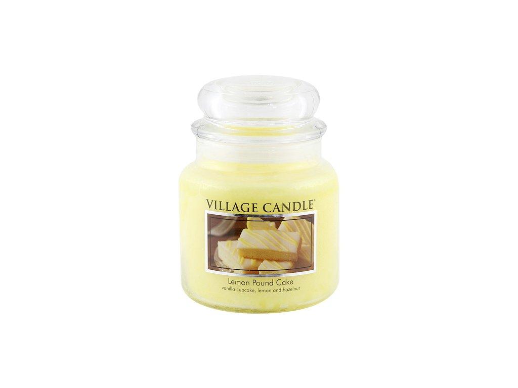 Svíčka Village Candle 454g, citrónový koláč