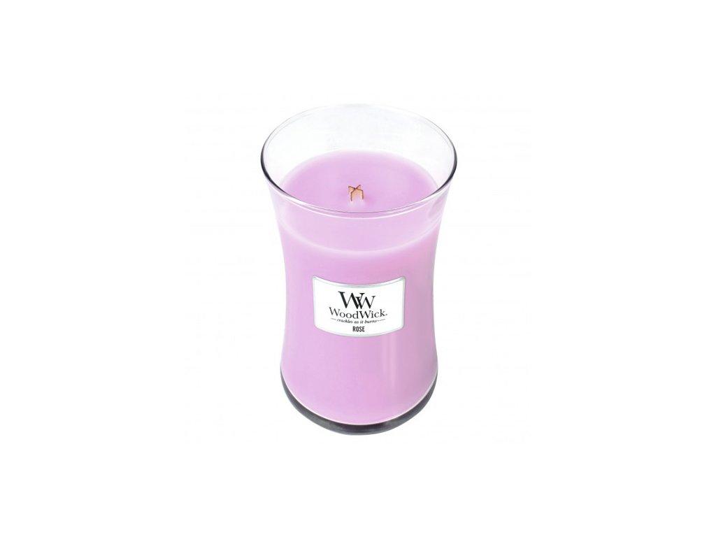 Svíčka Woodwick Růže, 609.5 g