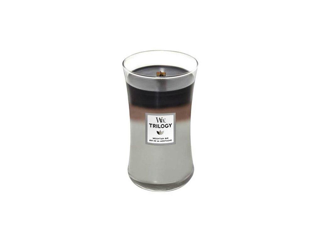 Svíčka Trilogy WoodWick Horský vzduch, 609.5 g