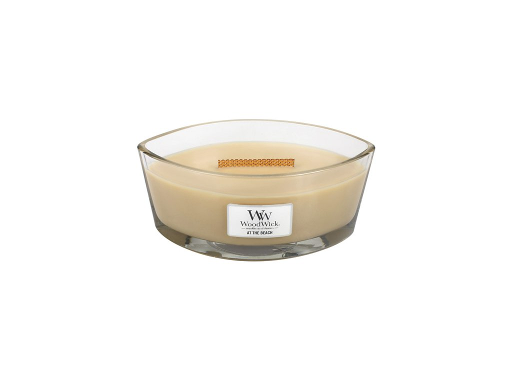 Svíčka Woodwick Na pláži, 453,6 g