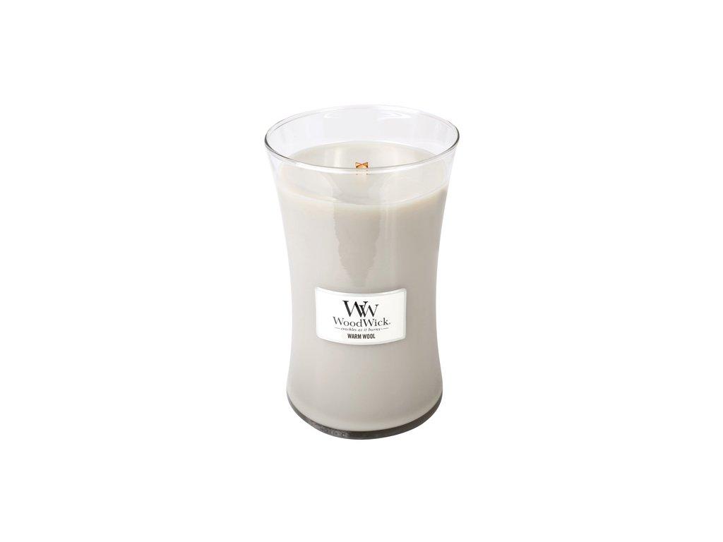 Svíčka WoodWick 609,5 g Hřejivá vlna