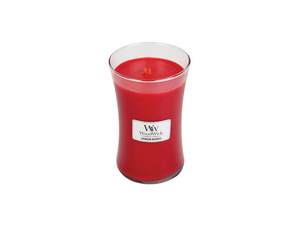 Svíčka WoodWick Červená jeřabina, 609,5 g