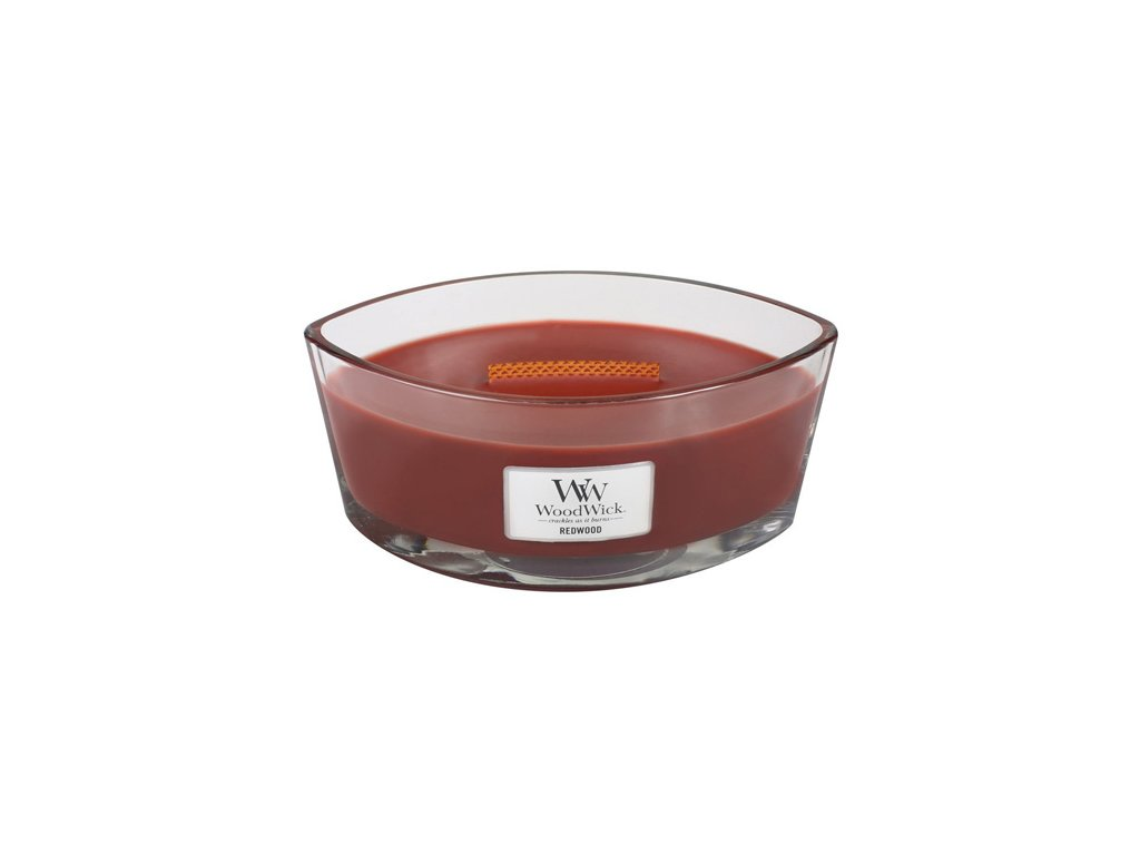 Svíčka Woodwick Santalové dřevo, 453,6 g