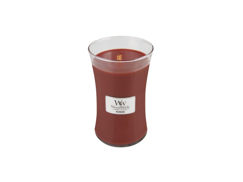 Svíčka WoodWick Santalové dřevo, 609,5 g