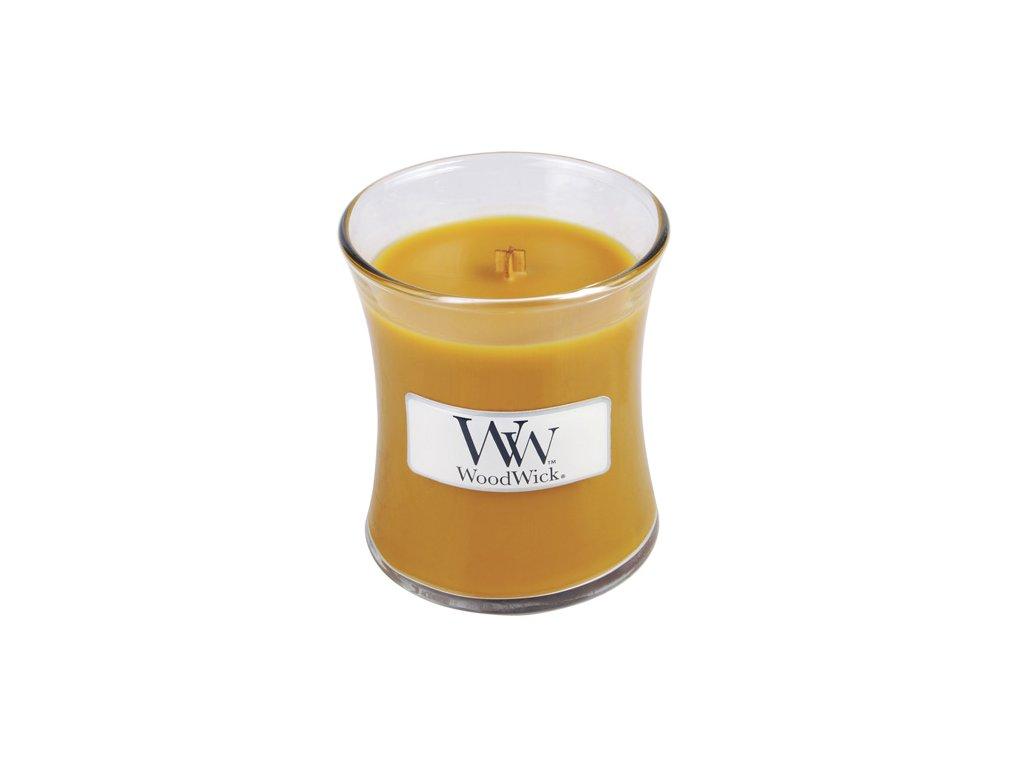 Svíčka Woodwick Jiskřivý pomeranč, 85 g