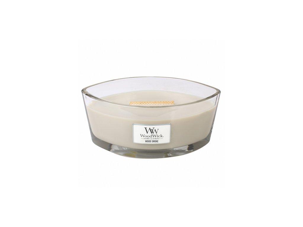 Svíčka Woodwick Kouř z cedrového dřeva, 453,6 g