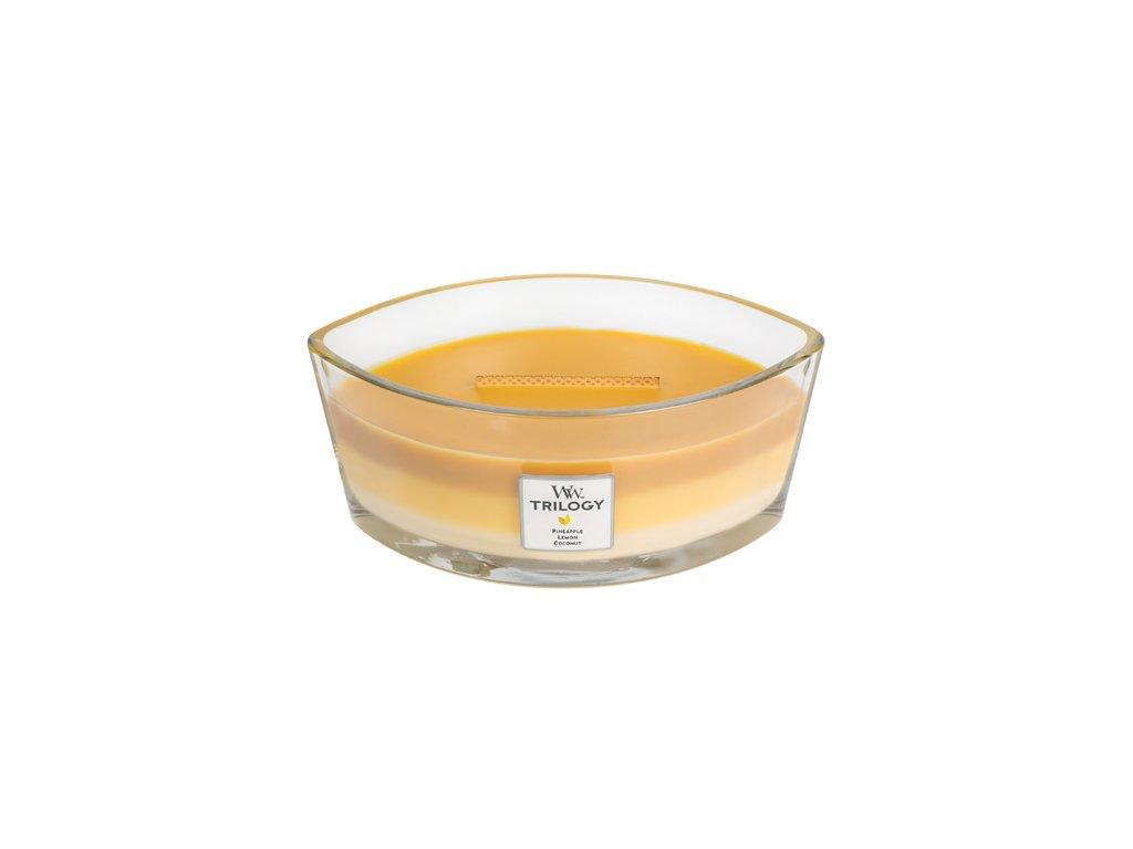 Svíčka Trilogy WoodWick Letní ovoce 453,6 g