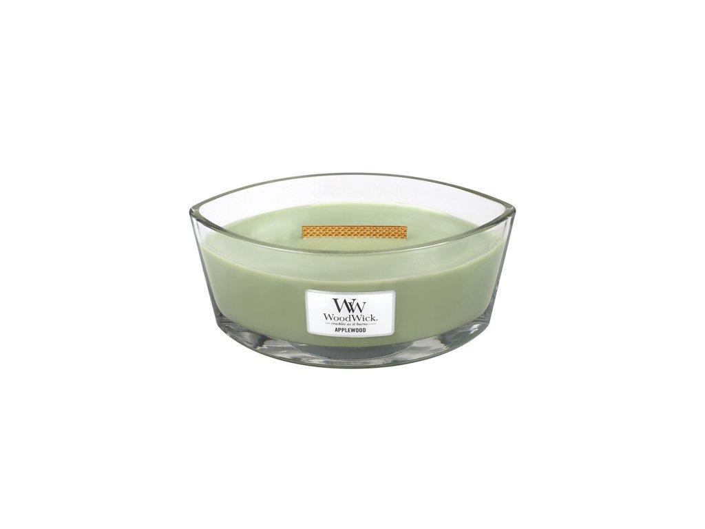 Svíčka Woodwick Zelené jablko, 453,6 g