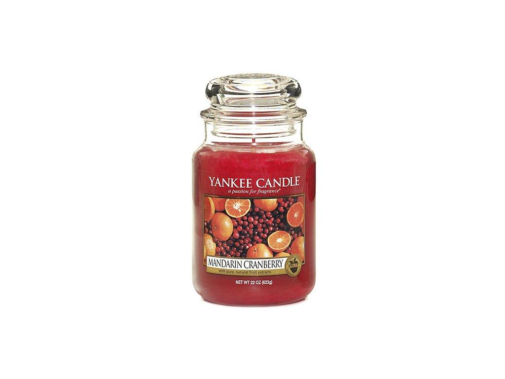 Yankee Candle Mandarinky s brusinkami, 623 g classic velký