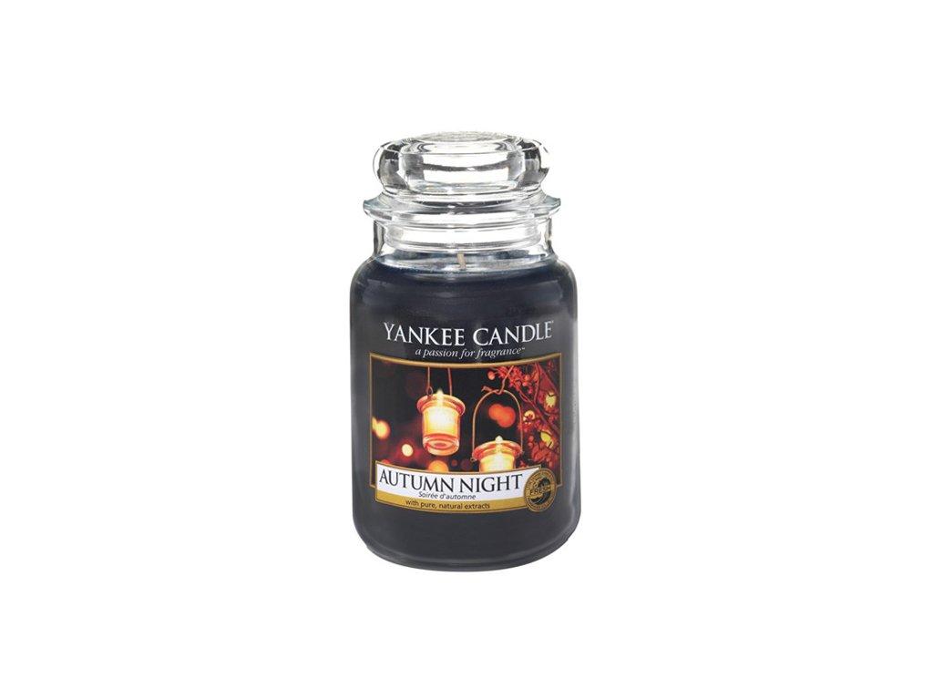 Yankee Candle Podzimní noc, 623 g classic velký